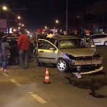 Femeie rănită într un accident produs în celebra intersecție Rebreanu cu Martirilor