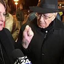 Mihai Șora, în mijlocul manifestanților: Vom învinge! 2
