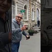 """Președintele Iohannis a întâlnit și opozanți, la Sinagoga """"Cetate"""""""