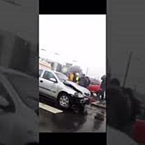 Accident cu o victimă din cauza unei șoferițe care nu a acordat prioritate  Nu funcționau semafoarel