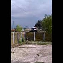 Un autobuz care transporta 50 de pesoane a luat foc, la Sannicolau Mare