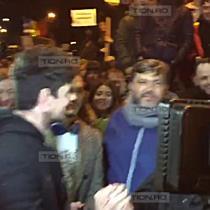 Tudor Chirilă a venit în Piața Victoriei pentru a protesta alături de timișoreni