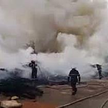 Incendiu puternic la un punct de colectare a obiectelor electronice din Timisoara