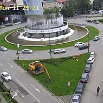 Cum arată o zi din viața unor muncitori la drumuri din Timișoara