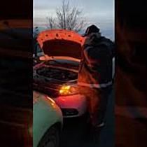 Accident provocat de un șofer beat, pe drumul Timișoara-Cenad 3