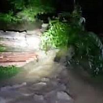 Gospodarii inundate dupa o rupere de nori, in zona Fagetului