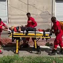 Doi muncitori răniți după ce zidul la care lucrau s-a prăbușit peste ei, la Timișoara