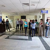 Greva la Finante. Activitatea Directiei Regionale a Finantelor Publice Timisoara este blocata