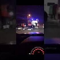 Șoferiță la spital după ce a schimbat banda fără să se asigure și a provocat un accident, la Timișoa