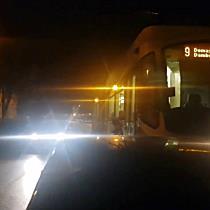 Tramvai blocat pe șine 35 de minute, din cauza unei mașini parcate
