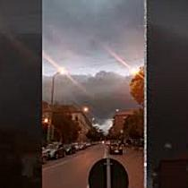 Imagini spectaculoase cu norii deasupra Timișoarei