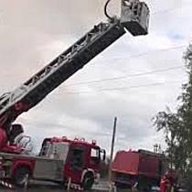 Incendiu puternic la o casă pe strada Lămâiței din Timișoara