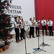 Alaiul Colindătorilor a pornit prin Timișoara