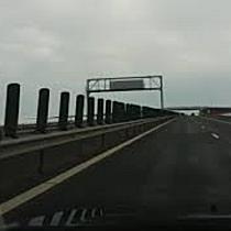Balize anti orbire rupte pe Autostrada Timișoara – Lugoj