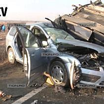 Accident grav pe soseaua Timisoara - Lugoj