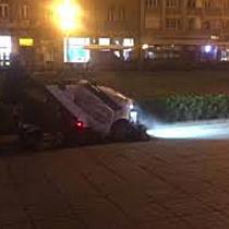 Brantner a început curățenia stradală în Timișoara  Deocamdată doar în centru