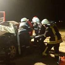 Accident in apropiere de Timisoara   un sofer beat s a rasturnat cu BMW ul