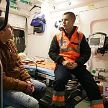 TionTV ti-l prezinta pe tanarul care salveaza vieti voluntar in cadrul Serviciului de Ambulanta
