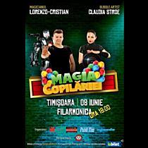Grăbeşte-te si ia bilet la cel mai magic spectacol pentru copii din Timișoara!
