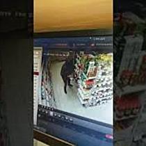 Femeie prinsa la furat  A baut o bere pana au venit politistii