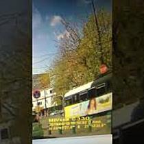 Accident bizar la Timișoara  Un tramvai a rulat fără vatman