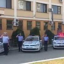 Moment de reculegere la Timisoara in memoria politistului ucis in gara din Suceava