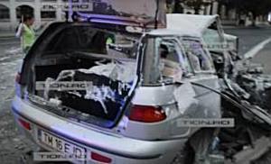 Accident mortal pe strada Cluj din Timisoara. Soferul vinovat a fugit