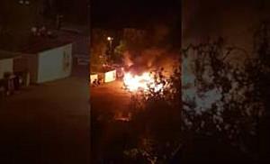 Incendiu violent la un fast food de pe Calea Aradului