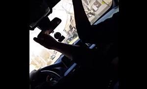 Adolescent filmat în timp ce se plimba cu X5-ul prin Ghiroda. Are numai 15 ani