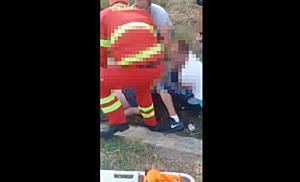 Un tanar motociclist a murit, dupa ce a fost lovit de masina pe drumul Timisoara - Buzias - Lugoj