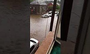Sudul Timisoarei, blocat de ploaia torentiala