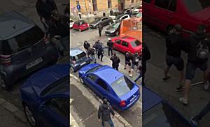 Suporteri dinamoviști atacați de susținători ai ASU Politehnica