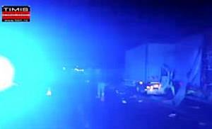 Accident autostrada Timisoara-Arad
