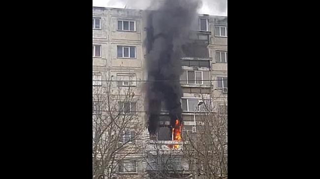 Incendiu puternic langa Spitalul Judetean din Timisoara 1