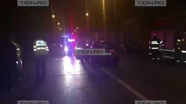 Accident provocat de un sofer mort de beat, la Timisoara