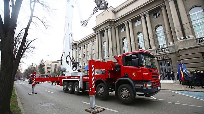 Pompierii din Timisoara pot interveni si la 70 de metri inaltime