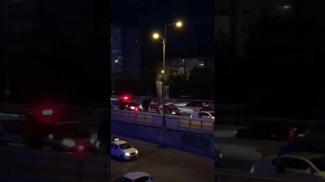 O persoană la spital după ce o șoferiță nu a păstrat distanța regulamentară în trafic, la Timișoara