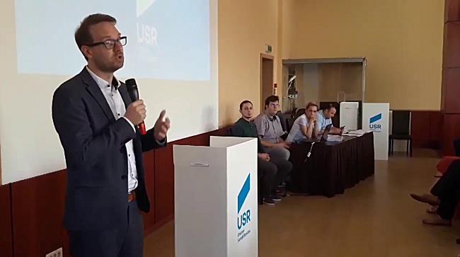 Dominic Samuel Fritz este candidatul USR la Primăria Timișoara