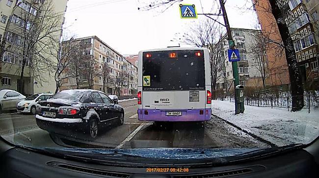 Femeie lovita din plin de autobuz pe Calea Aradului din Timisoara