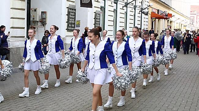 Parada Iepurasilor, prin centrul Timisoarei