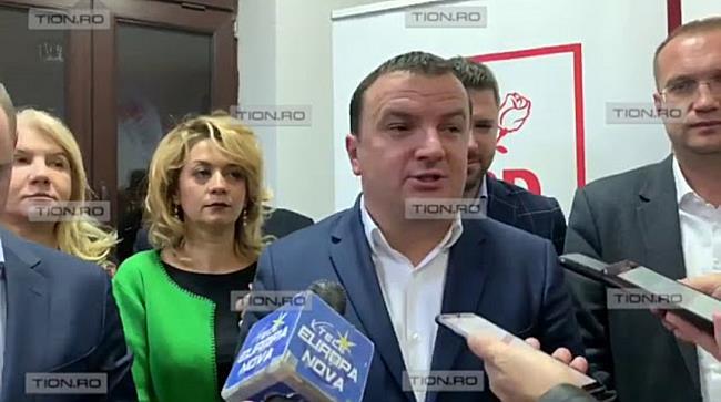 Fețe împietrite la sediul PSD Timiș, după aflarea rezultatelor