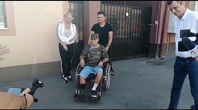 Prima persoană cu dizabilități locomotorii care a într una dintre mașinile celor de la STPT