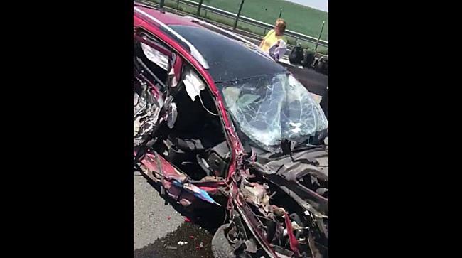 Accident grav pe autostrada Timisoara – Arad