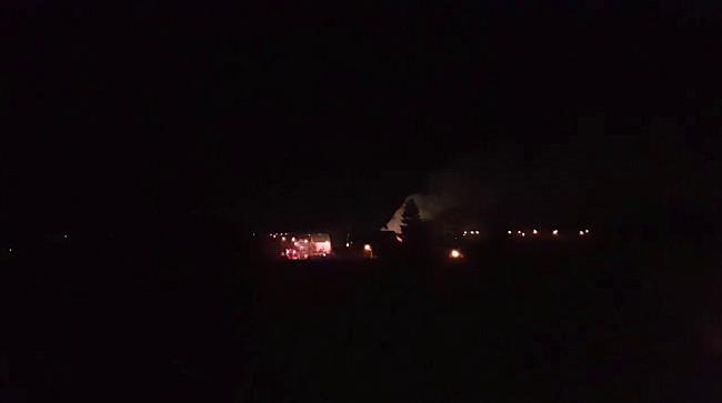 Incendiu puternic pe strada Olarilor din Timisoara