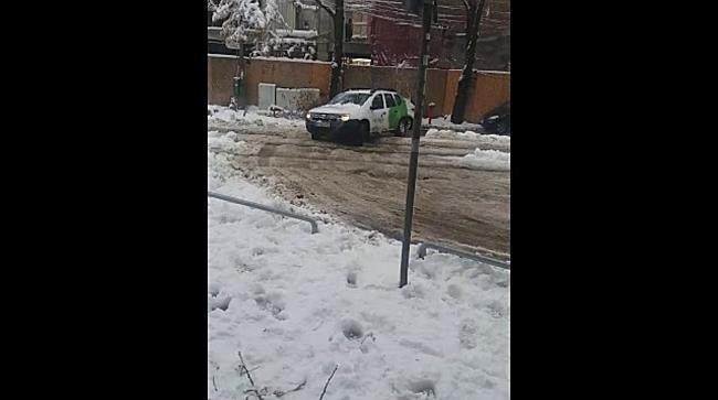 Dezastru pe străzile din Timișoara