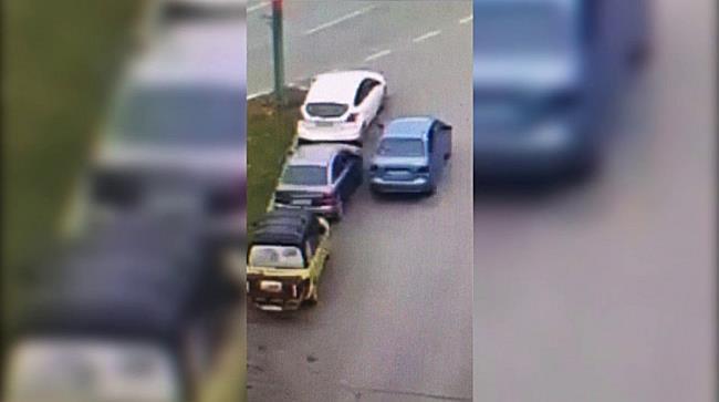 Dilema unei șoferițe blocată într o parcare din Timișoara cum a ieșit din impas