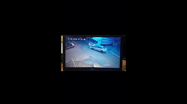 Accident cu două victime, filmat de camerele de supraveghere, în Timiș