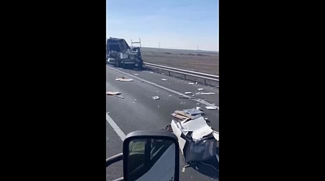 Circulație îngreunată pe autostrada Timișoara-Arad din cauza unui accident de circulație