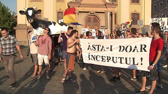 Protest Studenti Timisoara