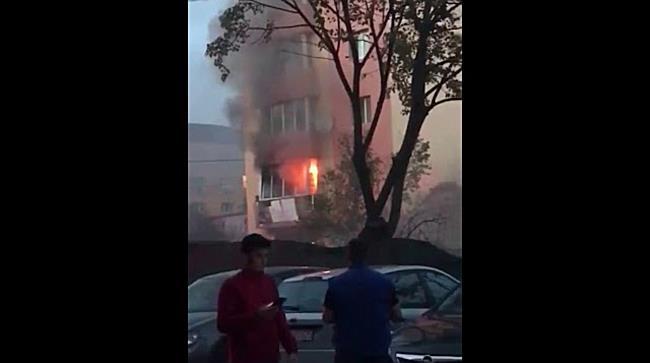 Incendiu in Complexul Studentesc din Timisoara